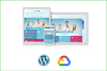 DOCTOR+ Plantilla WordPress Premium en Google Cloud Platform