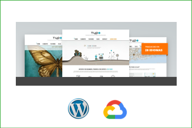TYPO Plantilla WordPress Premium en Google Cloud Platform
