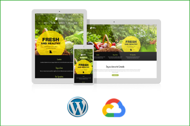 FARMWORLD Plantilla WordPress Premium en Google Cloud Platform