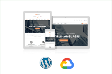 LANGWITCH Plantilla WordPress Premium en Google Cloud Platform