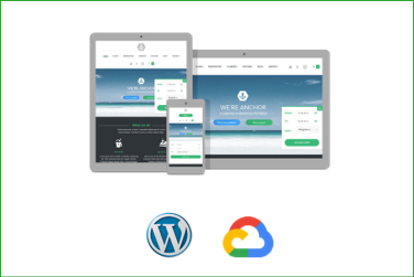 ANCHOR Plantilla WordPress Premium en Google Cloud Platform