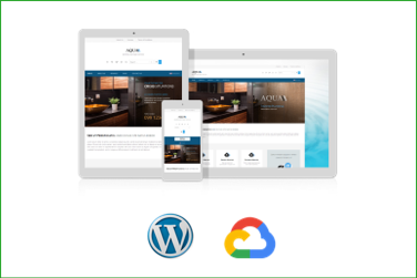 AQUA Plantilla WordPress Premium en Google Cloud Platform