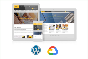 BRICK Plantilla WordPress Premium en Google Cloud Platform
