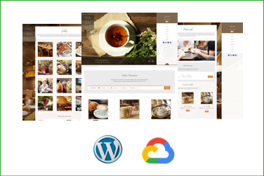 COFFEEBAR Plantilla WordPress Premium en Google Cloud Platform