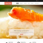 SUSHI Plantilla WordPress Premium en Google Cloud Platform